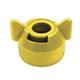 Hypro CAP00-02 Round Tip Cap Yel w/Gskt