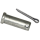 Clevis Pin w/Cotter, 1/2in x 1-3/8in Zc