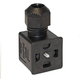 Din Valve Connector Style A 24/120VAC
