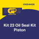 General Kit 23 Piston Rod Oil Seal Kit