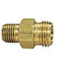 SSC, CP1322 Male 1/4 Adapter Body Brass