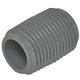 Nipple 3861.077 PVC80 1/2in Kynar PVDF