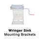 Wringer, 2031 Sink Brackets, Dyna-Jet