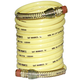 Nylon, Coiled Hose 1/4in x 25ft Yellow