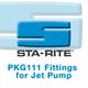 Starite, PKG111 Fittings for Jet Pump
