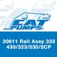 Cat Pumps 30611 Rails 333/23/430/530/5CP
