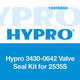 Hypro 3430-0642 Valve Seal Kit for 2535S