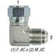Elbow 6500-8 F JIC 1/2in x 1/2in M JIC