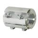 Coupler Split 1in x 1-1/4in Aluminum