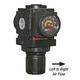 ARO Air Reg w/Gauge R37121-600 1/4in FPT