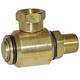 Hose Swivel 7030 Brass 3/8in M x 3/8in F