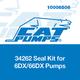 Cat Pumps 34262 Seal Kit 6DX/66DX