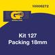 General Kit 127 Short Packing 18mm