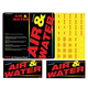 Adams, 8431-1AKIT Decal Air/Water Mach