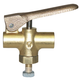 Kingston Valve 253 Brass 1/4 FPT w/Stud