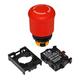 Eaton Button M22-PVT-K01 TwistRelease PB