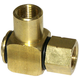 Hose Swivel 7475 Brass 1/2in F x 1/2in F