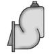StaRite, PKG73 Adapter Flange 3in FPT