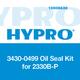 Hypro 3430-0499 Oil Seal Kit 2300 Series