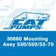 Cat Pumps 30660 Mount Assy 530/550/53-70