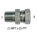 Swivel 1404-8-6 1/2in MPT x 3/8in FPT