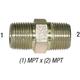 Nipple 5404-6 Hex 3/8in MPT
