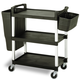 Service Cart 5810 with 3 Lock Fit Shelf