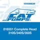 Cat Pumps 816551 Compl Head 310S/40S/50S