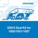 Cat Pumps 33913 Seal Kit 1050/1051/1057