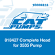 Cat Pumps 818427 Complete Head for 3535