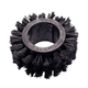 Poodle Plus, 3in I.D. Unica Ring, Black
