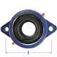 Bearing 2-Bolt Flange 1-15/16in Timken
