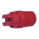 Hypro Nozzle 1/4in MPT 65° 30 Red