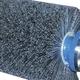 Tire Brush Poly/Nylon 96in x 8in 4-Bolt