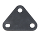 Triangle Plate, C188 for 1/2in Shaft