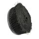 Wheel Brush 18in Round Bristle PE Black