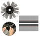 DryTex, Top Brush Foam Velcro, 23pcs Kit