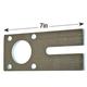 Torque Plate, Hydraulic 4-Bolt 7in Long