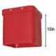Blower, Extension Rectangular Red