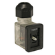 DIN Valve Connector Style B 120VAC Amber