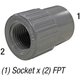 Coupler 835-005 1/2in Slp x 1/2in FPT
