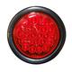 Round 4in Light Strobe, LED Red w/Plug