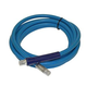 Hose Assembly, 1/4in x 12ft Fit Blue