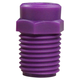 Hypro Nozzle PVDF 1/4in 50° Purple