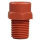 Hypro Nozzle PVDF 1/8in 60° Terracotta