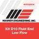 Wanner D10K51NHFEC Fluid End Kit
