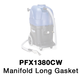 Powr-Flite 72640A Gasket, Manifold Long