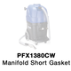Powr-Flite 72641A Gasket, Manifold Short