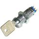 Medeco Switch Lock, Momentary, w/2 keys