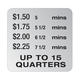 DECAL185 - Multiple Times - Silver/Black